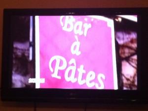 Bar à pâtes